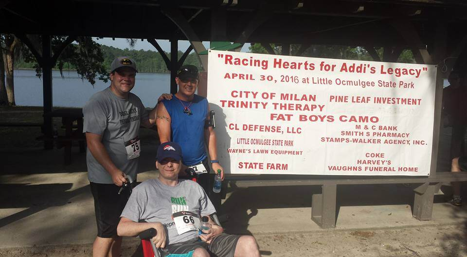 Racing Hearts for Addi's Legacy McRae