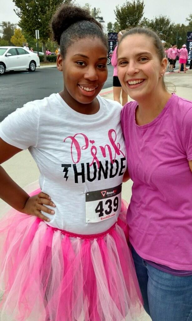 Paint Gwinnett Pink 2017-Kyanna Dixon and Katie Doss